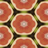 Seamless texture to the dining room tablecloth. Texture coconut. Tropical motif print. Stock Photography