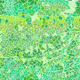 Seamless texture with triangles, abstract geometric mosaic textu Stock Photography