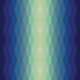 Seamless texture of triangles. glow effect. Deep blue color.  Use as wallpaper, pattern fill, backdrop Stock Photography