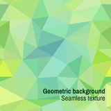 Seamless texture of triangles. Seamless texture with green triangles Stock Photography