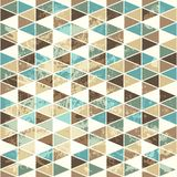 Seamless texture with triangles, mosaic endless pattern Stock Image