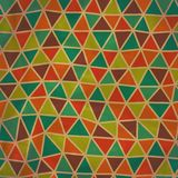 Seamless texture with triangles, mosaic endless pattern. Seamles Royalty Free Stock Image