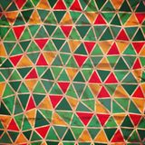 Seamless texture with triangles, mosaic endless pattern. Seamles Royalty Free Stock Photo