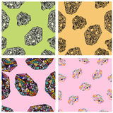 Seamless texture. Vector infinite pattern Royalty Free Stock Photo
