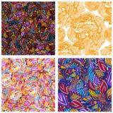Seamless texture. Vector infinite pattern Stock Photos