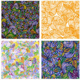 Seamless texture. Vector infinite pattern Stock Images