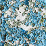 Seamless texture of the wall with peeling paint royalty free stock images