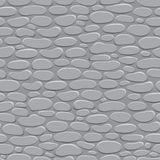 Seamless texture walls of natural stone Stock Images