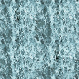 Seamless texture - water in the waterfall Stock Images