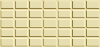 Seamless texture with white chocolate bar. Royalty Free Stock Images
