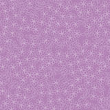 Seamless texture with white outline flowers Royalty Free Stock Photo