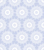 Seamless texture with white snowflakes Royalty Free Stock Photography