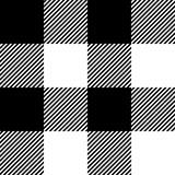 Seamless texture with wide tartan Stock Image