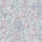 Seamless Texture With Pastel Colored Rhombs Royalty Free Stock Photography