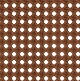Seamless Texture of Wooden Brown Rattan. Royalty Free Stock Image
