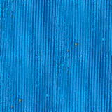Seamless texture wooden fence old blue wallpaper Stock Image