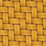 Seamless Texture of Wooden Rattan. vector illustration