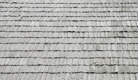 Seamless texture of wooden roof. Royalty Free Stock Image