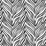Seamless texture of zebra skin Stock Image