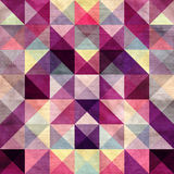 Interesting texture of colored triangles Stock Photography