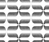 Seamless textured circle dots wallpaper pattern Royalty Free Stock Images
