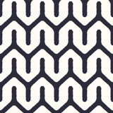 Seamless textured fashion zigzag pattern Royalty Free Stock Image