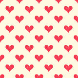 Seamless textured heart symbol pattern Royalty Free Stock Photography