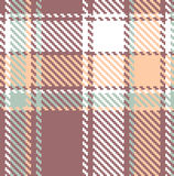 Seamless textured tartan plaid pattern Stock Photos