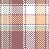 Seamless textured tartan plaid pattern Stock Photos