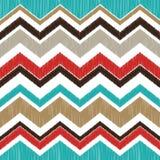 Seamless textured zigzag pattern stock illustration