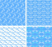 seamless textures of abstract water Royalty Free Stock Photos