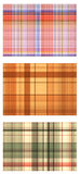Seamless textures of a fabric Stock Photos