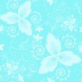 seamless texturvektor Blom- ändlös bakgrund med dekorativa beståndsdelar Vektorbakgrund för bruk i design Bruk för wallpape Royaltyfri Fotografi