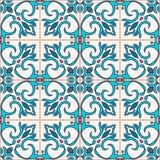 seamless texturvektor Härlig kulör modell för design och mode med dekorativa beståndsdelar vektor illustrationer