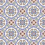 seamless texturvektor Härlig kulör modell för design och mode med dekorativa beståndsdelar Royaltyfri Foto
