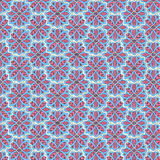 Seamless textute with flowers decoration. Floral pattern decorat Royalty Free Stock Images