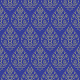 Seamless Thai pattern, repetitive background from Thailand Royalty Free Stock Images