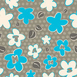Seamless Thank You Pattern Stock Photography
