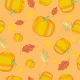 Seamless thanksgiving pattern Royalty Free Stock Image