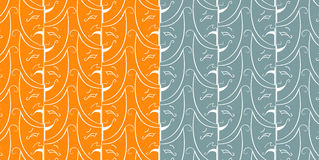Seamless theatrical pattern Stock Photo