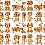 Seamless tiger Royalty Free Stock Photos