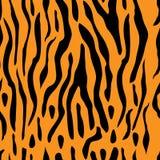 Seamless Tiger Stripe Design Stock Images