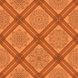 Seamless tile abstract pattern Royalty Free Stock Photography