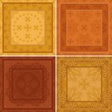Seamless tile abstract pattern Royalty Free Stock Photos