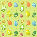 Seamless tile Easter egg background Stock Photography