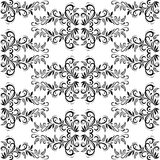 Seamless Tile Floral Pattern Stock Photography