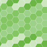 Seamless  tile with hexagons Royalty Free Stock Images
