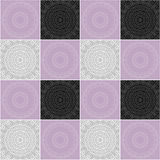 Seamless tile ornament pattern Stock Photography