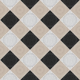 Seamless tile ornament pattern Stock Images