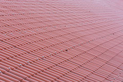 Seamless tile panels in Terracotafarbe Stock Image